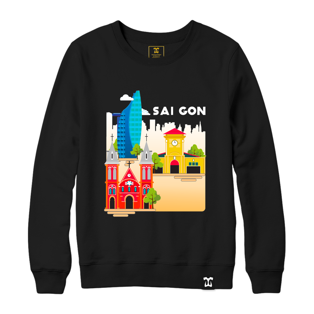 Saigon Art Sweater