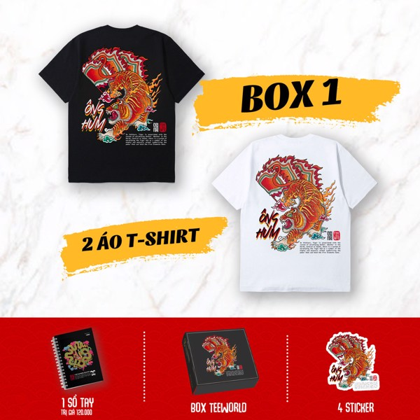 VIETNAMESE TIGER BOX 1