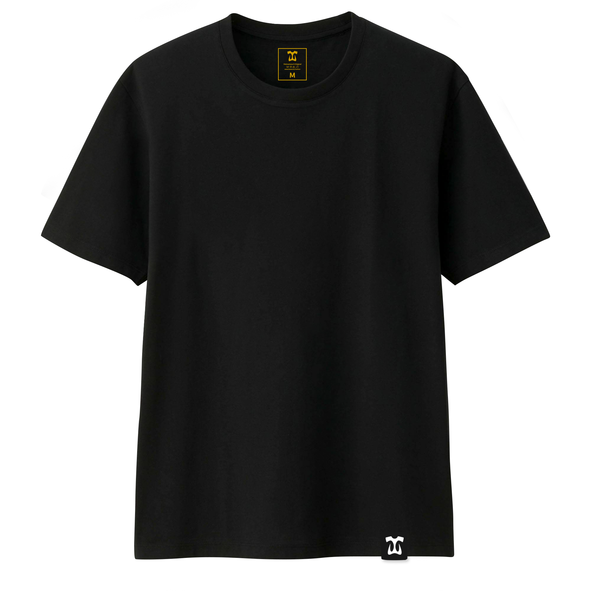 Teeworld Basic Tee Black Size XXL (65-75kg)