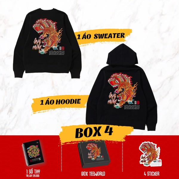 VIETNAMESE TIGER BOX 4