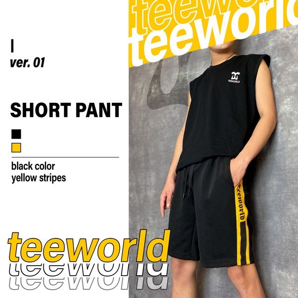Teeworld Short Pant Version 1.0