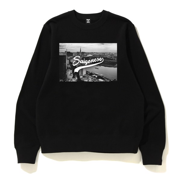 Saigonese New Design Black And White Sweater