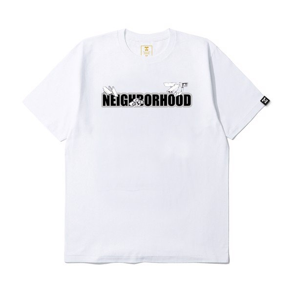 Neighborhood Black & White T-shirt