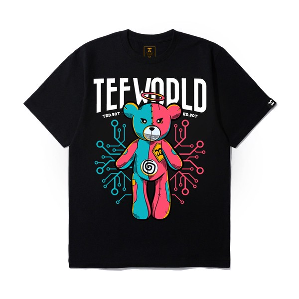 Teeworld Teddy Bear T-shirt