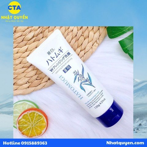 Sữa rửa mặt Hatomugi Cleansing And Facial Washing