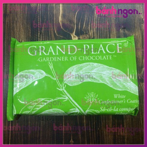 Chocolate Grand Place tấm trắng 110gr
