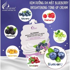 Kem Dưỡng Da Mặt Blueberry Brightening Tone Up Cream (10ML x 5)