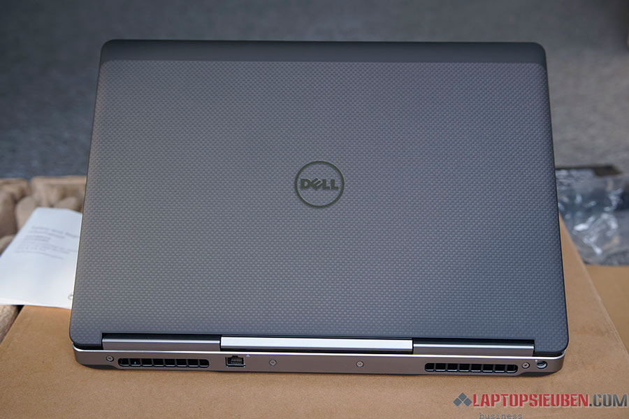 thiết kế cao cấp của dell 7510 m1000
