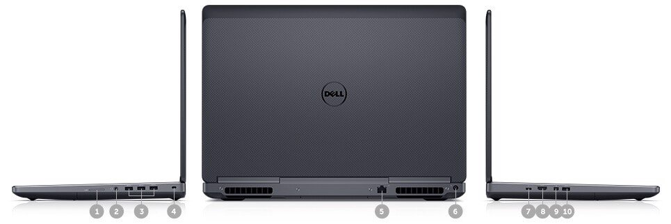 DELL PRECISION 7520 Core i7-7920HQ
