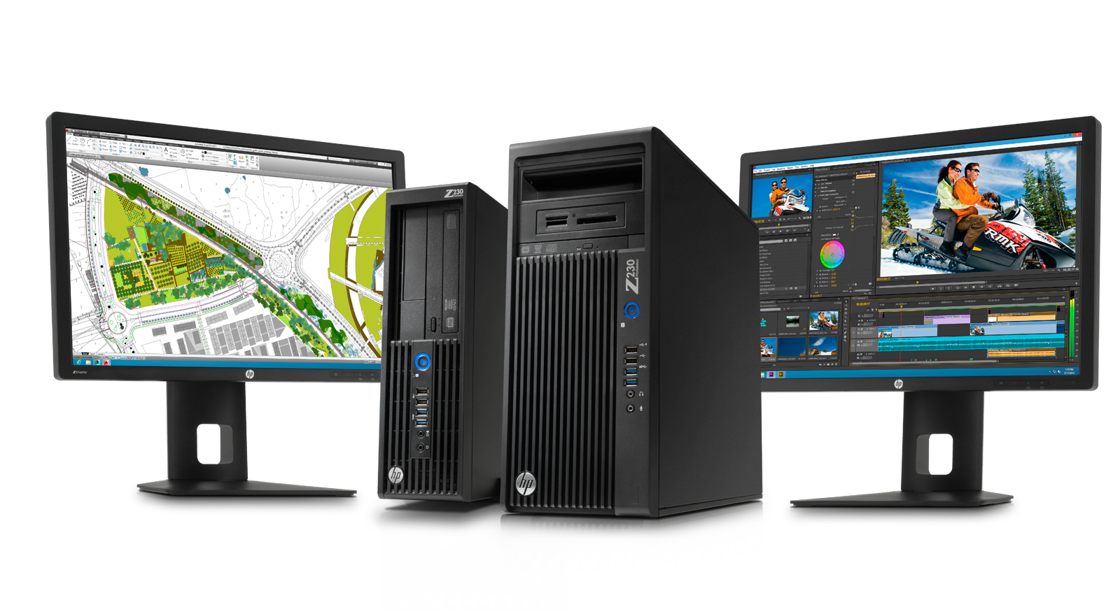HP Z230 MT Workstation Core i7-4770 Quadro K2000