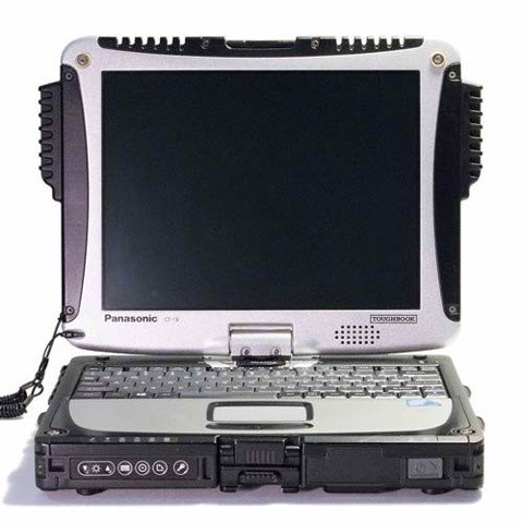 Panasonic Toughbook CF-19 MK6 Core i5-3320M || Wwan 3G + GPS || Webcam