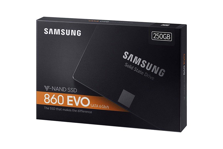 Samsung 860 EVO 250GB 2.5 Inch SATA III Internal SSD (MZ-76E250B/AM)