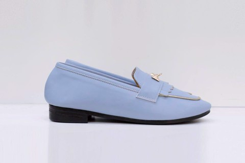 GIÀY BÚP BÊ LOAFER IRIS LIGHT BLUE CLAN08LB
