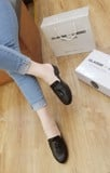 SLIPPER MOCCASIN HELIOS BLACK SPM002B