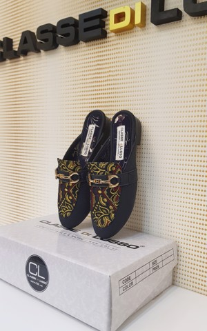 SLIPPER MOCCASIN BORA NAVY SPM003NA