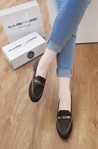 LOAFER IRIS BLACK LOA01B