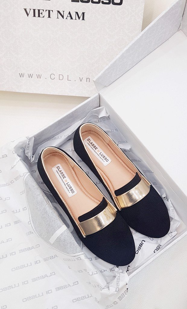 GIÀY BÚP BÊ LOAFER GOLDEN AMUN CLO3014GOLD