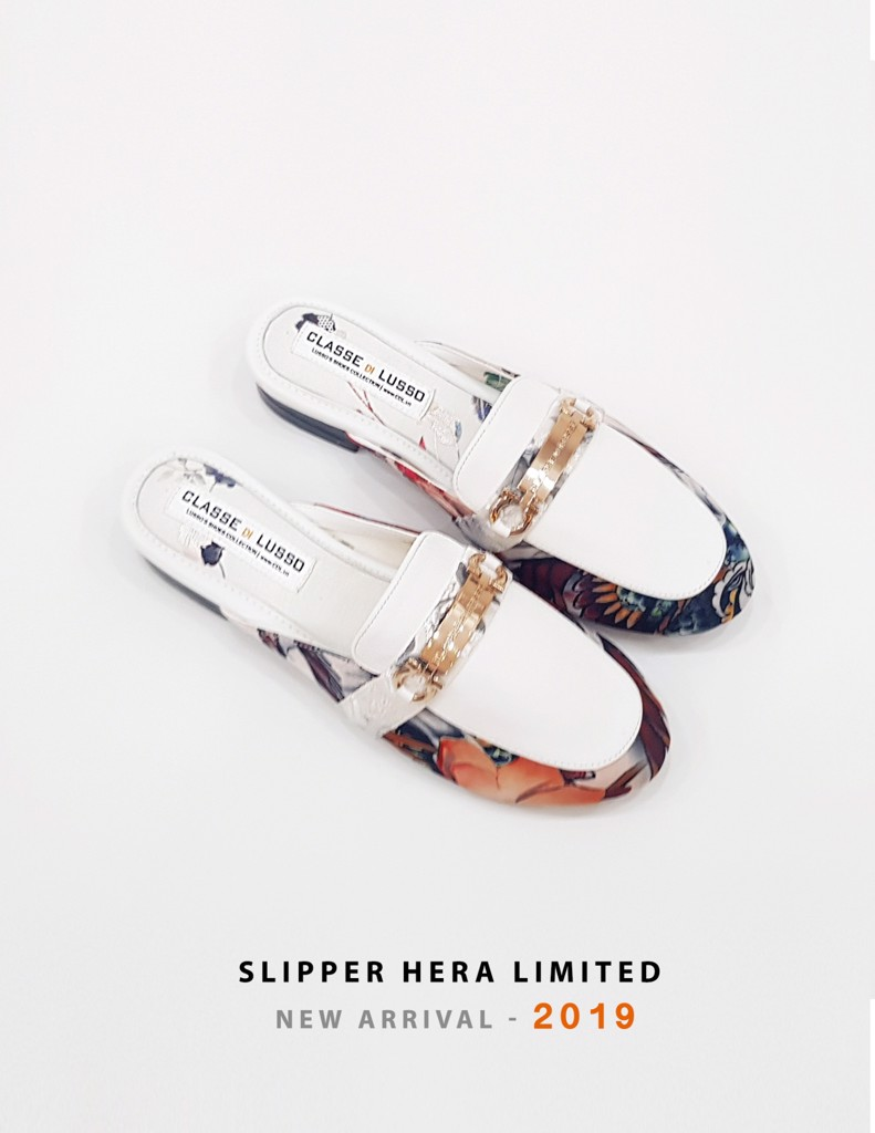 SLIPPER MOCCASIN HERA SPM006W [LIMITED EDITION]