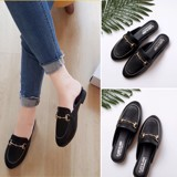 SLIPPER MOCCASIN HOTEI BLACK SPM001B