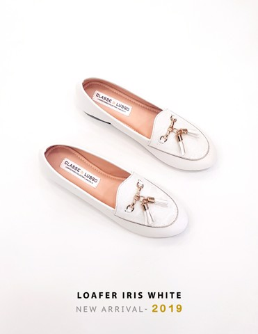 LOAFER IRIS WHITE LOA01
