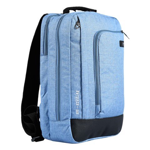 Backpack M - CITY BLUE