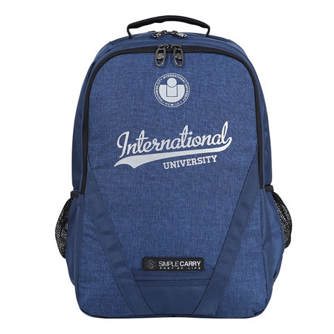 Backpack B2B02 L.NAVY INTERNATIONAL UNIVERSITY
