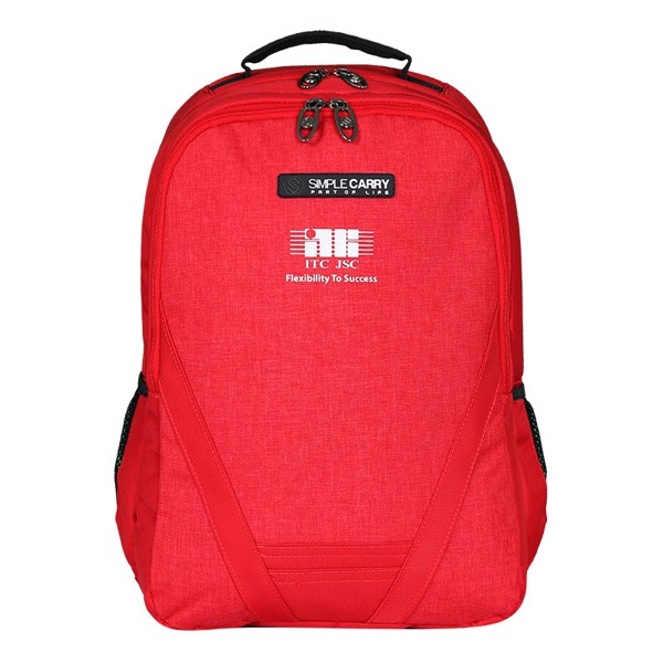 Backpack B2B02 D.RED ITC