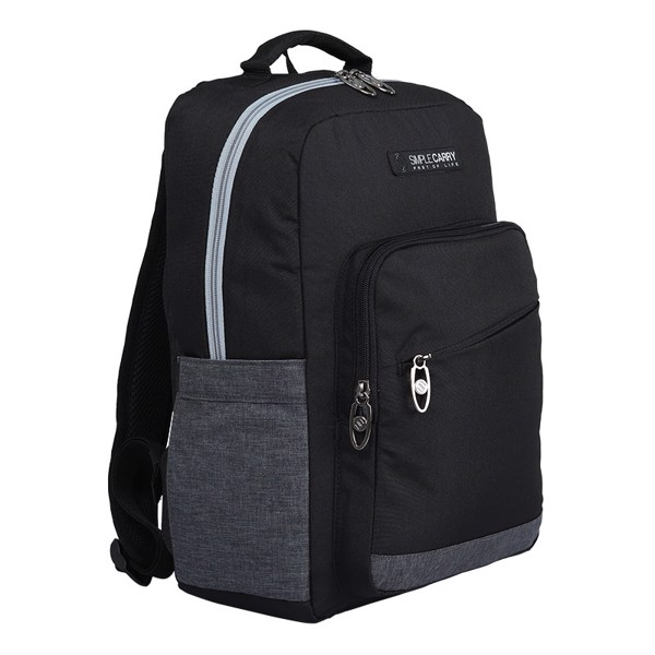 Backpack ISSAC3 BLACK/D.GREY