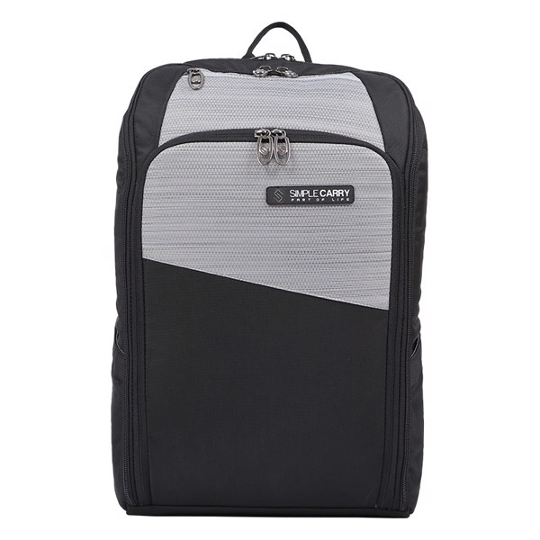 BACKPACK P3 GREY/ BLACK