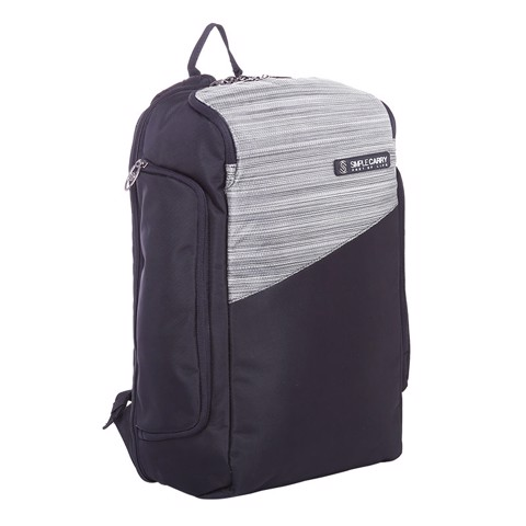 BACKPACK P9 GREY/BLACK