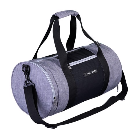 BAG GYMBAG GREY/BLACK