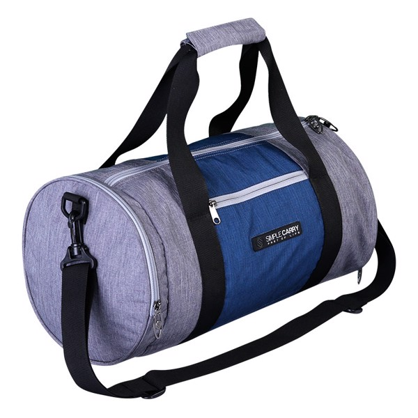 BAG GYMBAG GREY/NAVY