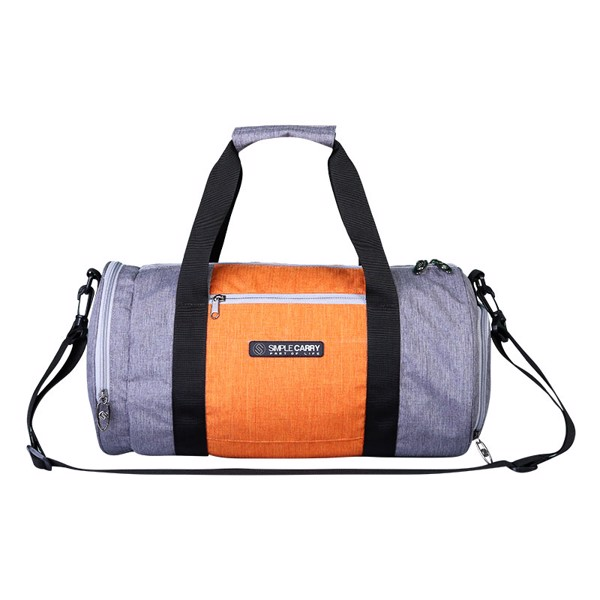 BAG GYMBAG GREY/ORANGE