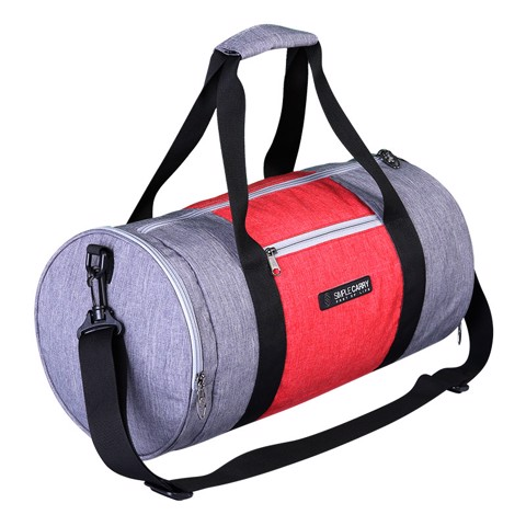 BAG GYMBAG GREY/RED