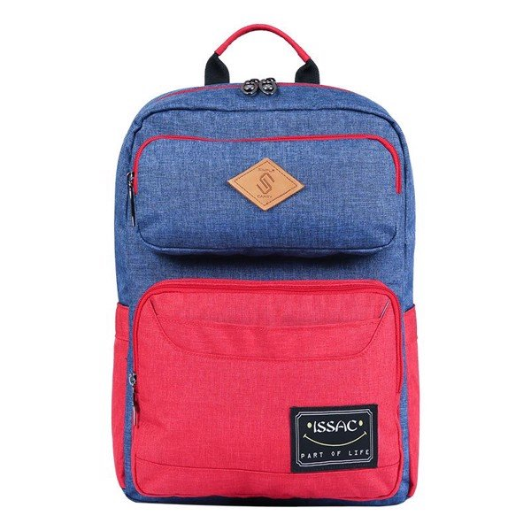 Backpack ISSAC1 L.NAVY/RED