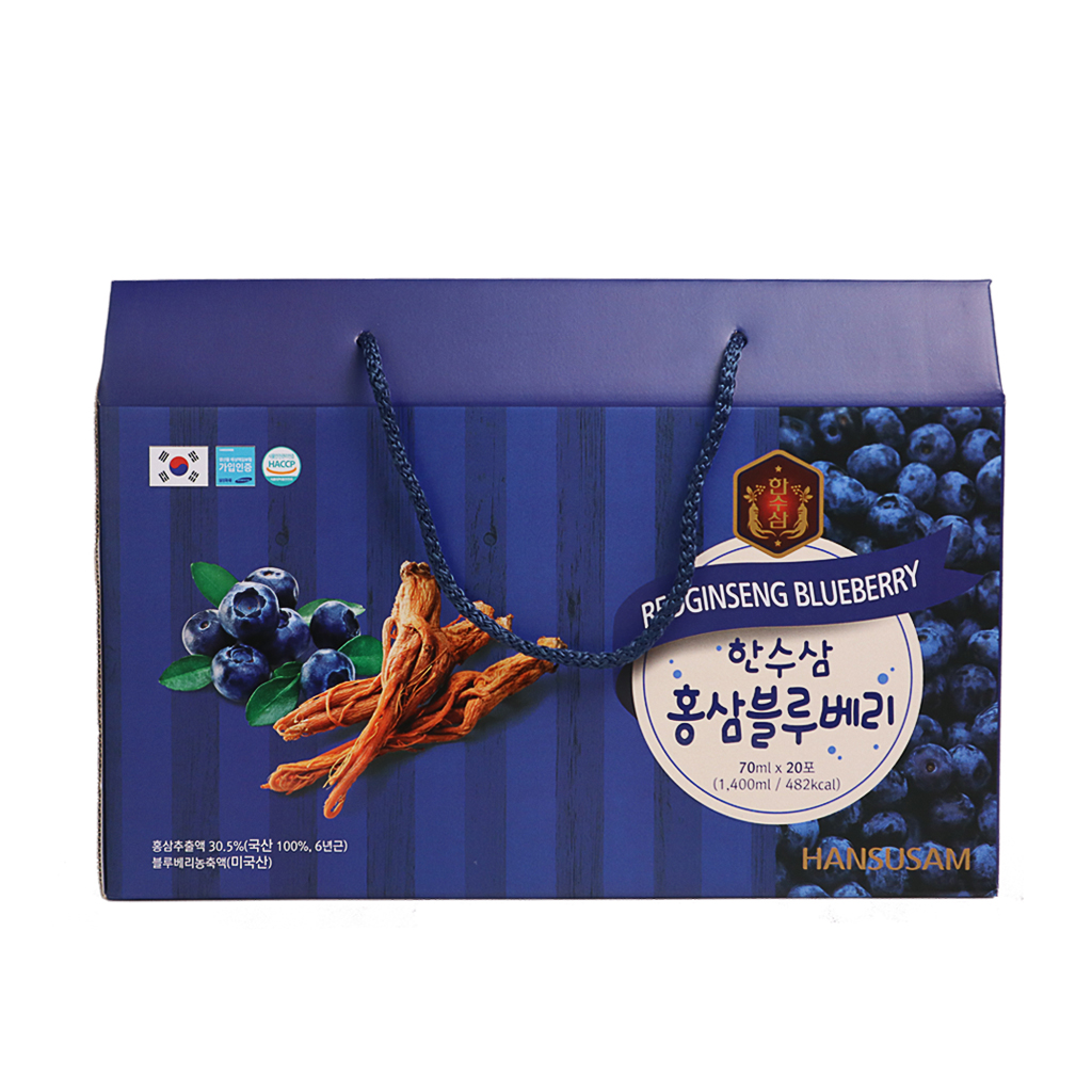 Nước Sâm Hansusam 70ml - Sâm Blueberry