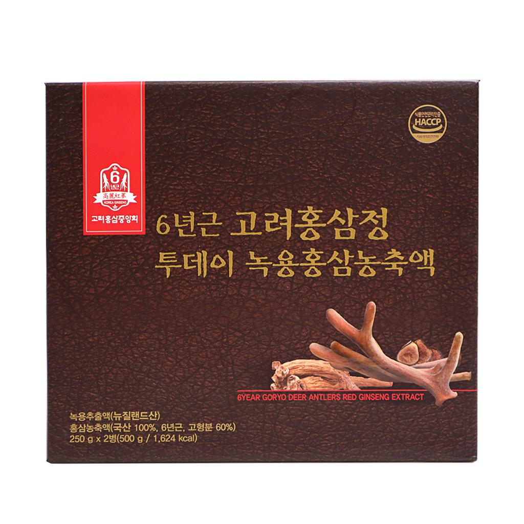 Cao Hông Sâm Nhung Hươu GORYO 250g x 2 lọ