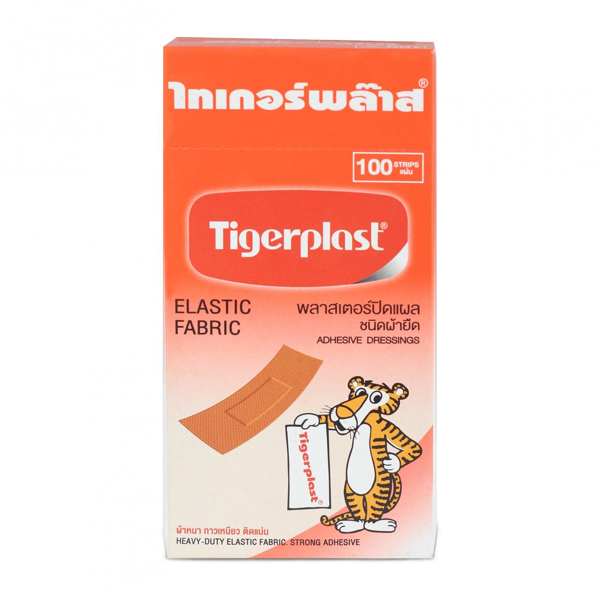 Băng cá nhân Tiger Plast - Da (hộp x 100)