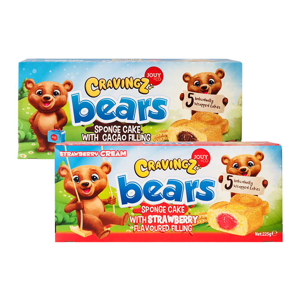 Bánh Bông Lan Gấu Cravingz