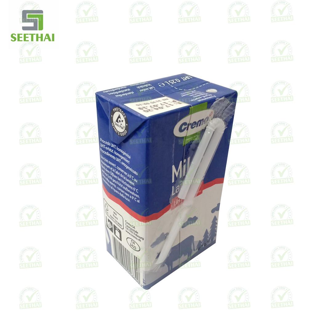 Sữa Cremo Swiss Pure Milk UHT 3.5% Chất béo 250ml