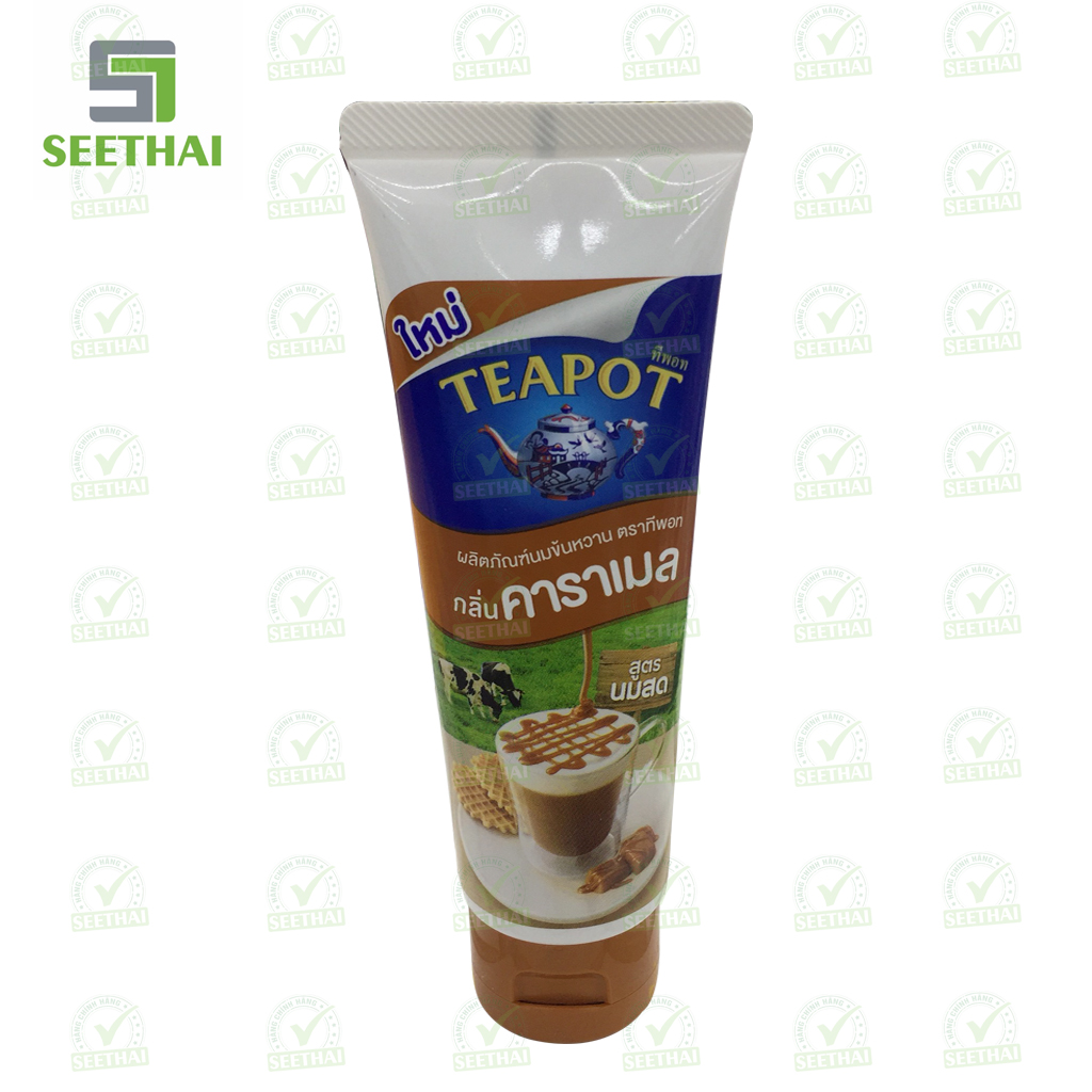 Sữa đặc Teapot dạng tuýp - Sữa Caramel