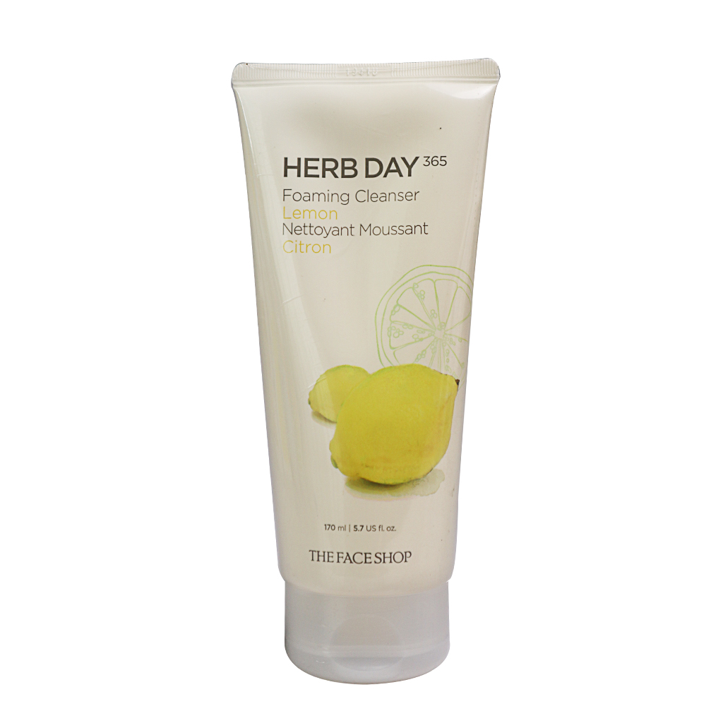 Sữa Rửa Măt The Face Shop Herb Day - Lemon Dưỡng Ẩm
