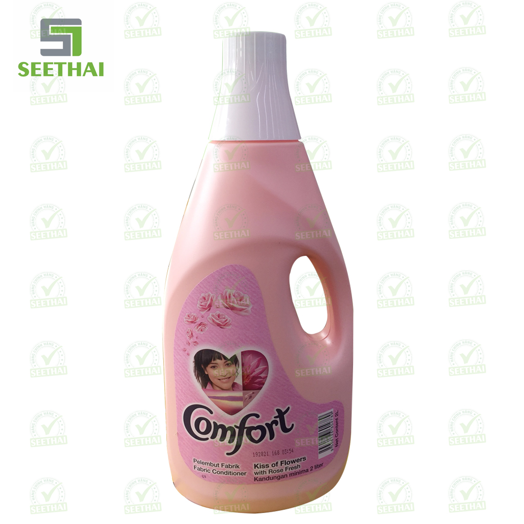 Xả Vải Comfort 2L Malaysia - Hồng
