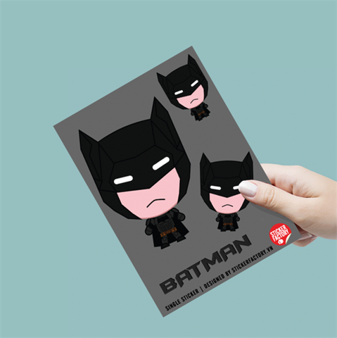 Bat Man - Single Sticker hình dán lẻ