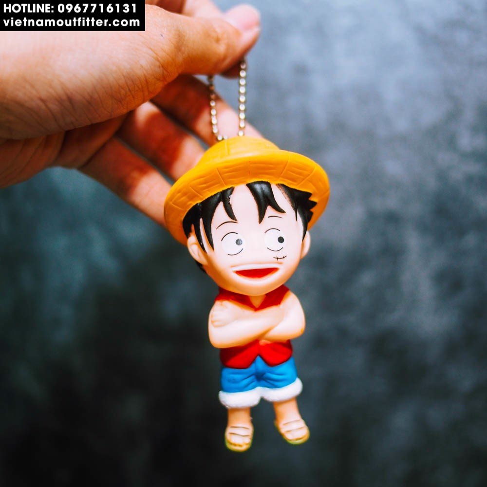 Móc khóa One Piece Luffy