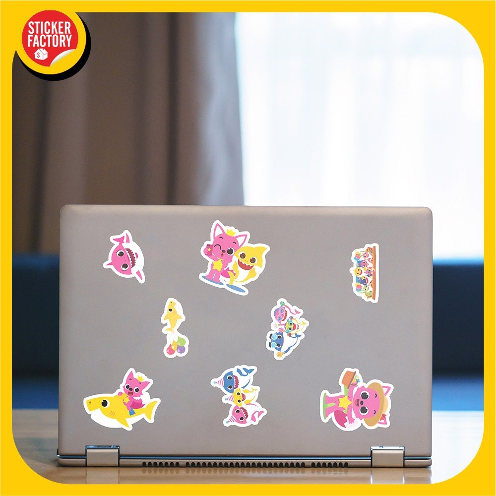 Baby Shark - Set 30 sticker hình dán