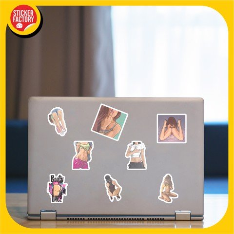 Sexy Girl - Set 30 sticker hình dán
