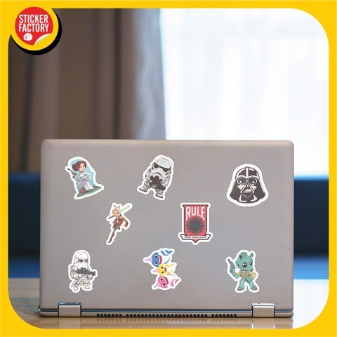 Star War - Set 30 sticker hình dán