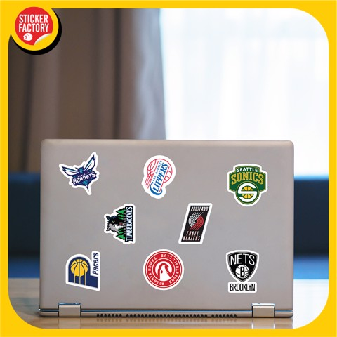 NBA - Set 30 sticker hình dán