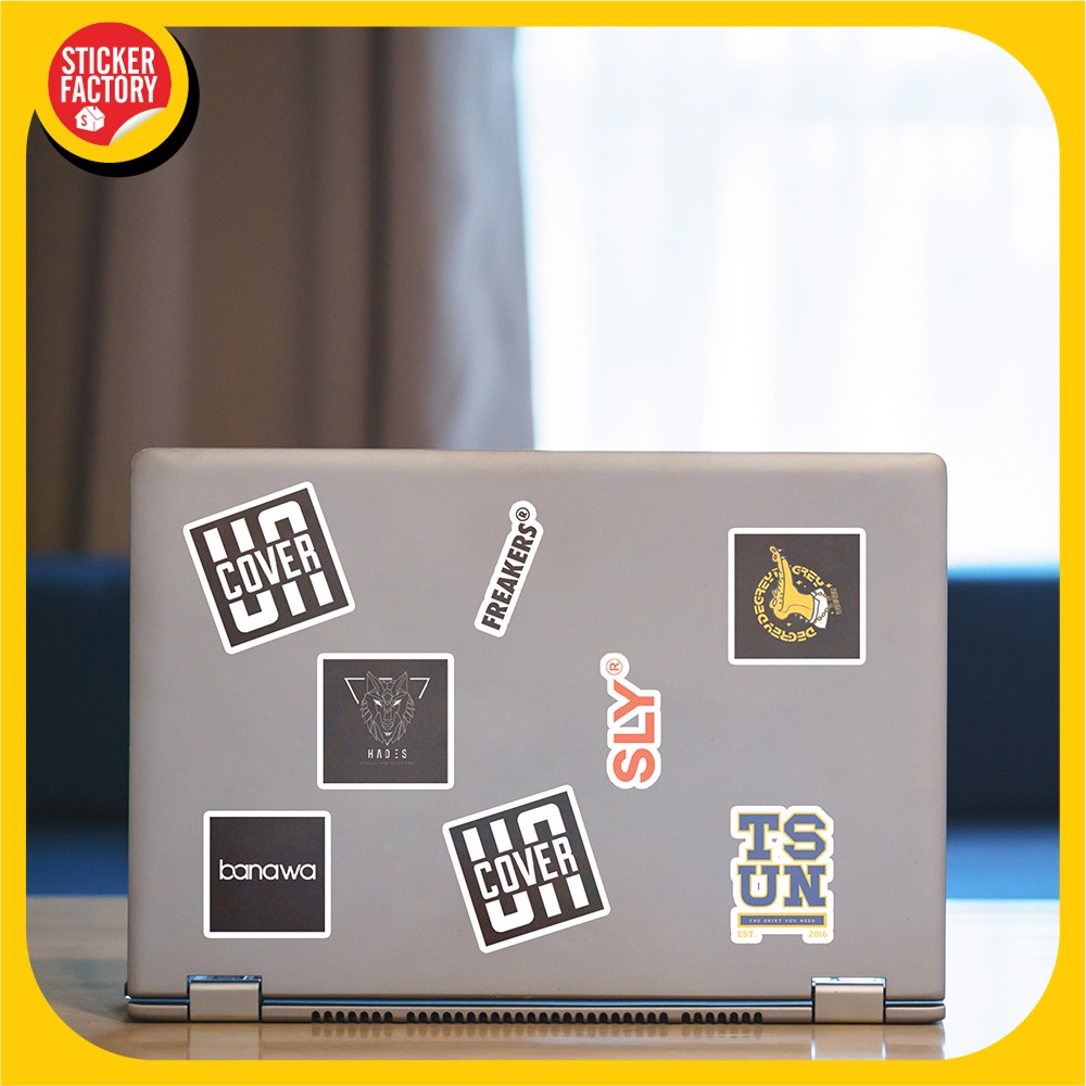 Local Brand Vietnam - Set 30 sticker hình dán